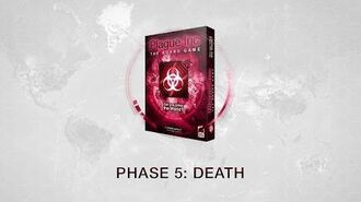 Phase 5 The Death Phase for Plague Inc The Board Game