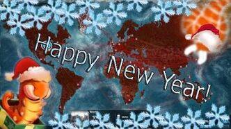 HAPPY NEW YEAR! - -Сценарий Помощник Санты- - -Plague inc-Прохождение