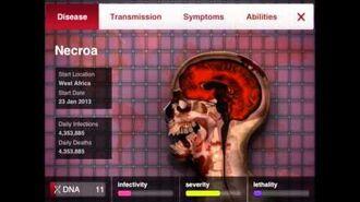 Adverse Reactions (Plague Inc, Necroa Virus.)