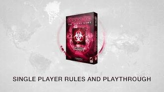 Single Player Rules and Playthrough for Plague Inc The Board Game