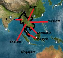 S.E Asia