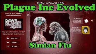 "Plague Inc Evolved - Original Soundtrack - 9 ""Simian Dawn""-Simian Flu Theme Song-"