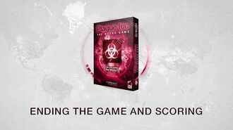 Game End and Final Scoring for Plague Inc The Board Game