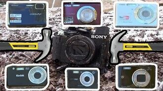 Bored Smashing - DIGITAL CAMERAS!