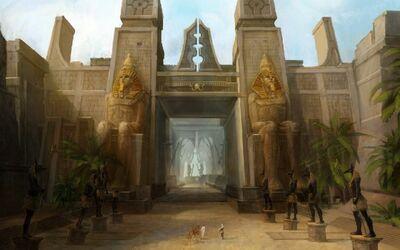Egypt fantasy art 1280x800 64840