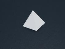Pyramid wedge