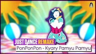 PonPonPon Just Dance Wii 2 Remake