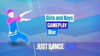 Girls and Boys Just Dance Hits Gameplay