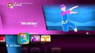 Girls And Boys JDHits menu