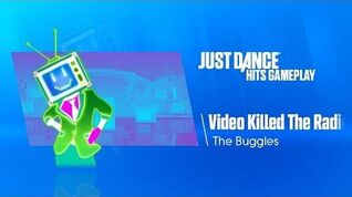 Video Killed The Radio Star (Wii U Exclusive) Just Dance Hits Gameplay