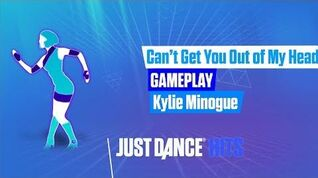 Can't Get You Out Of My Head (No Audio) Just Dance Hits Gameplay