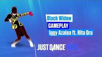 Black Widow Just Dance Hits Gameplay