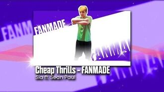 Cheap Thrills - FANMADE Just Dance 2017 GAMEPLAY