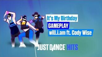 It's My Birthday Just Dance Hits Gameplay
