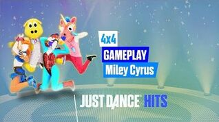 4x4 Just Dance Hits Gameplay