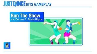 Run The Show (Wii U Exclusive) Just Dance Hit Gameplay