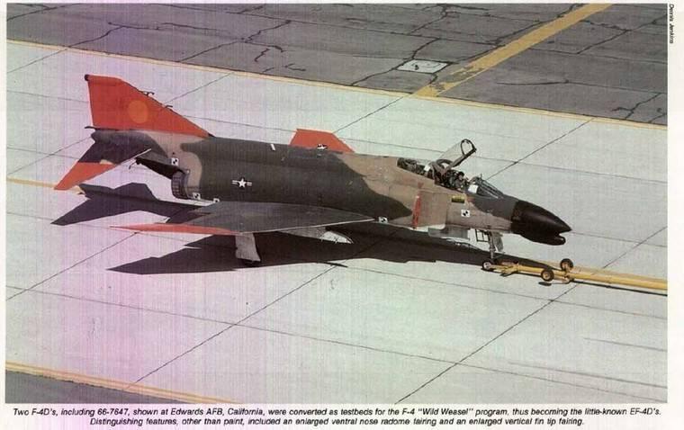 F-4D prototipo wild weasel