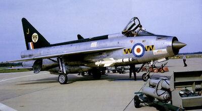 Lightning F Mk 1 XM147 1