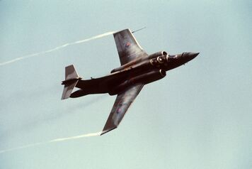 Blackburn Buccaneer S2B Mildenhall 1988-01