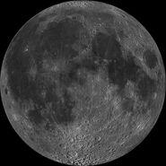 Nearside-Moon