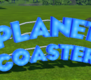 Planet Coaster Sign - Standing Sign 3 Lit