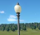 Spooky Lamp Post
