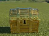 Golden Treasure Chest