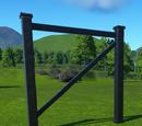 Iron Scaffolding Wall 4m