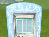 Village Door - Paneled Square