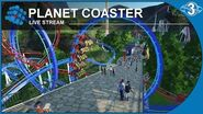 Planet Coaster - Live Stream - 3