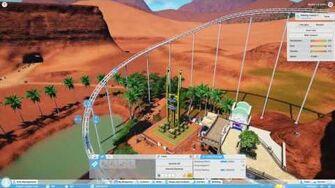 Planet Coaster Gamescom 2016 - Coaster Supports