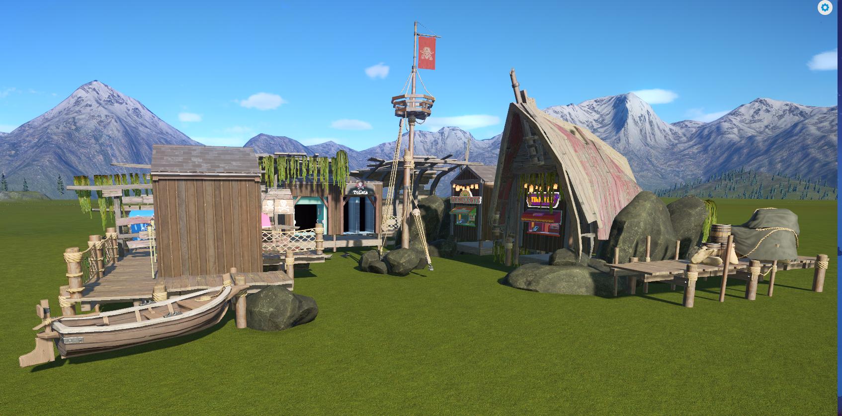 Pirate Themed Shops | Planet Coaster Wiki | FANDOM powered by Wikia