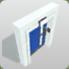 Planet Coaster Door Blue icon