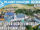 DC Super Heroes World at Parque Warner Madrid by SP Ridley