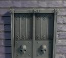 Gothic Castle Door
