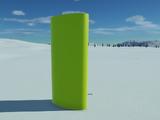 Oval Cylinder 4 - Large