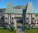 Fairytale Castle Park Entrance