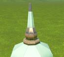 Castle Minaret Roof Octagonal 01