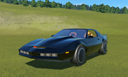 Planet Coaster - Knight Rider KITT Complete