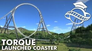 Planet Coaster College - Launched Coaster Torque Tutorial