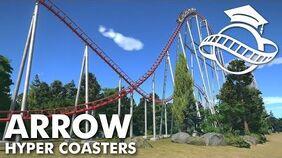 Planet Coaster College - Arrow Hyper Coaster Tutorial