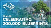 Celebrating 200,000 Blueprints on the Workshop