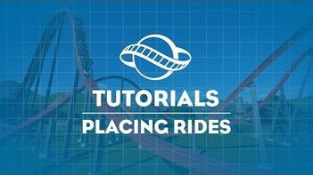 Planet Coaster Tutorial - Placing Rides