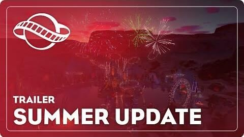Summer Update Trailer – Planet Coaster
