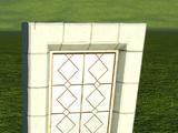 Castle Window - Leaded Small