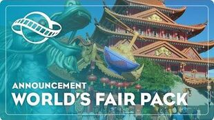 Planet Coaster World's Fair Pack Coming Soon!