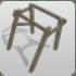 Wood Frame Angled icon