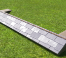 Square Tile Roof Eave