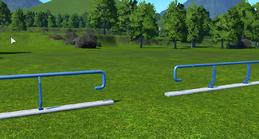 Planet Coaster Railing example1