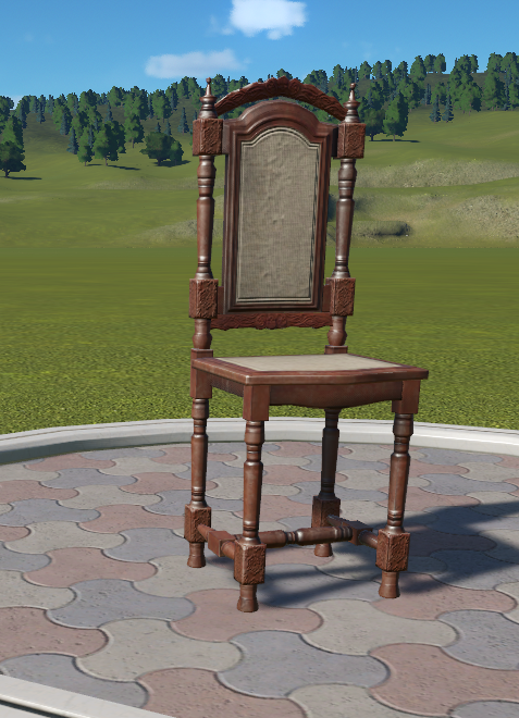 Spooky Dining Chair